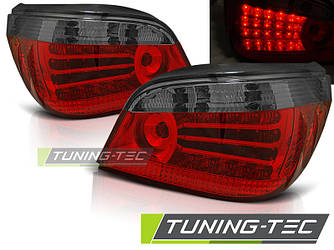 Стопы фонари тюнинг оптика BMW E60 (03-07) красно-темные