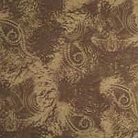 «Стретч замша», ткань стрейтчевая, узор абстрактный павлиний глаз