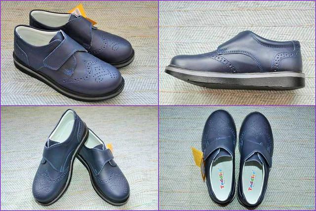Школьные туфли оксфорды Toddler 53793 Lacivert фото