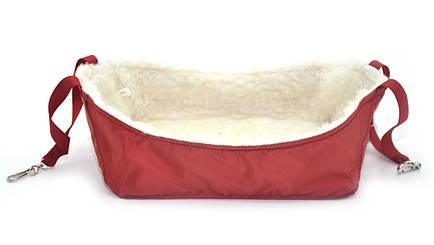 Гамак для крыс 160х110х80 красный, фото 2