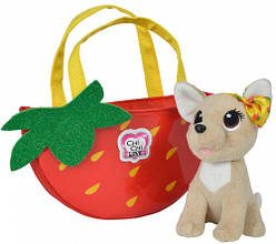 Чихуахуа Фэшн с сумочкой фруктовая мода Клубника Simba