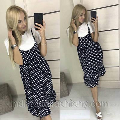 Платье + футболка