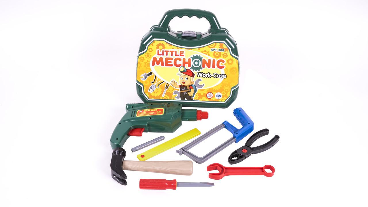 """Набор инструментов """"Механик"""" в чемодане 386OR"""