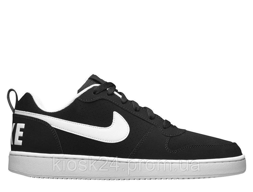 85b639e6 Оригинальные кроссовки Nike Court Borough Low Black White (838937-010) -  Sneakersbox -