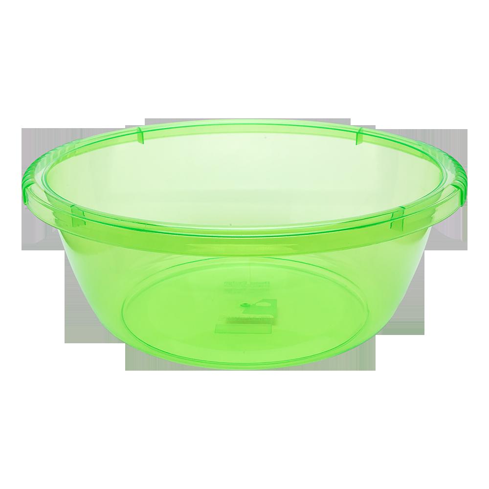 Таз круглый 4,2 л зеленый