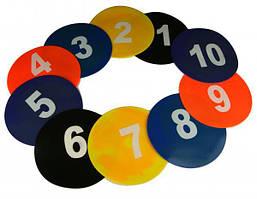 Маркер тренировочный набор 5 цветов 10 шт + сумка