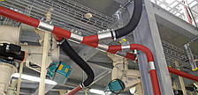 Вакуумный трубопровод, монтаж