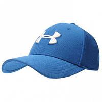 Оригинальная Бейсболка Under Armour Heather Blitzing Cap Mens - Blue/White