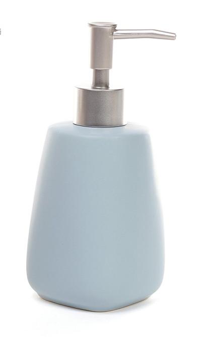 Диспенсер керамический 400мл для жидкого мыла/лосьона 3 вида (851-225)