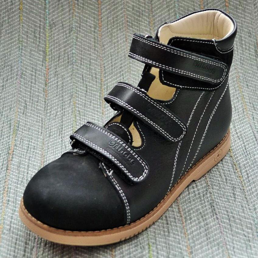 Ортопедические туфли-берцы, Orthobe размер 29 31 32 33 34 35 36