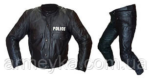 Мотокостюм с защитой BKS Leather. Великобритания, оригинал.
