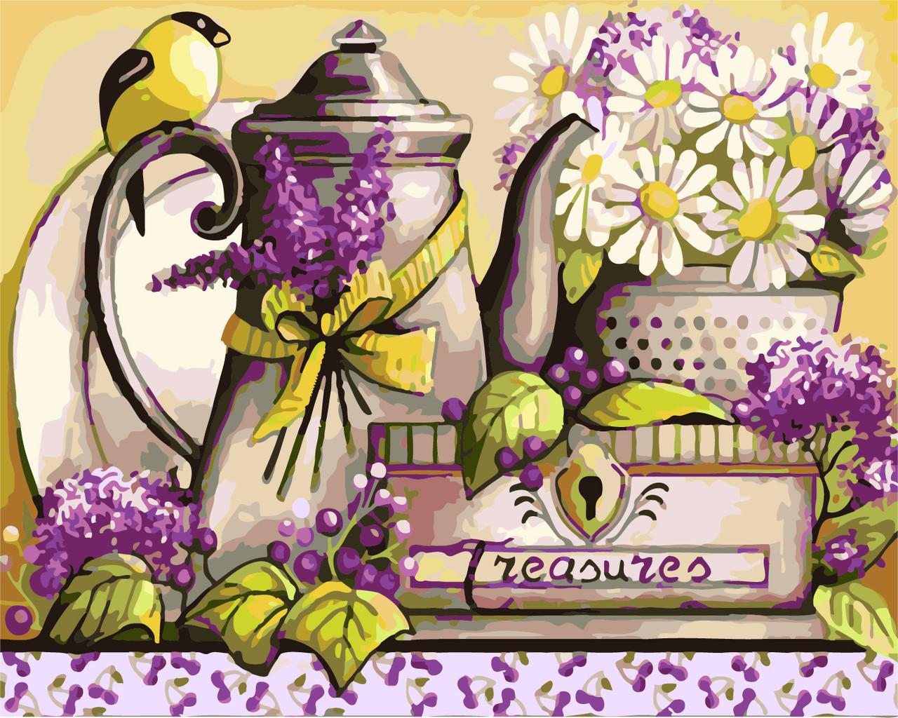 Картина по номерам Уютная кухня, 40x50 см., Art Story