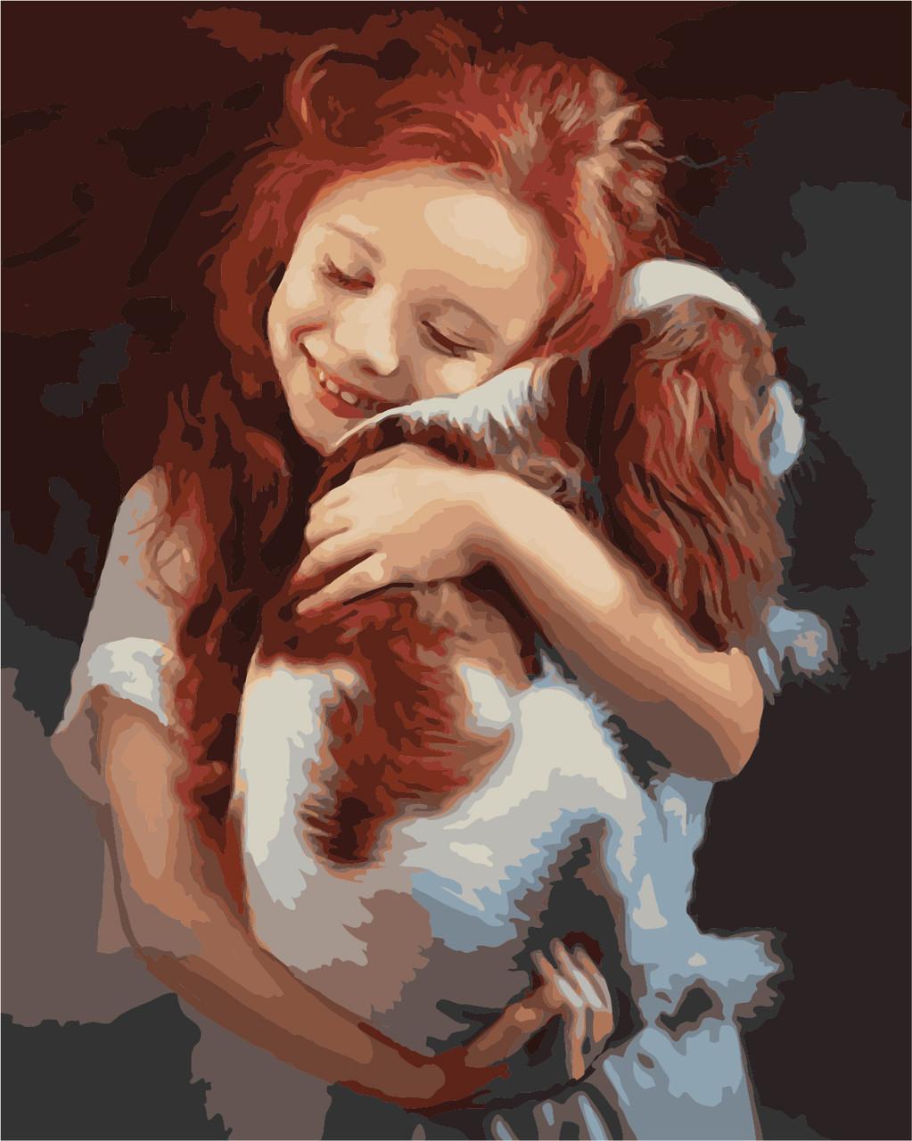 "Картина по номерам ""Любимая собака"", 40x50 см., Art Story"