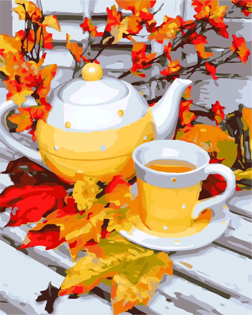 Картина по номерам Осенний день, 40x50 см., Art Story