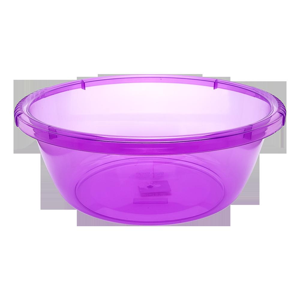 Таз круглый 4,2 л фиолетовый