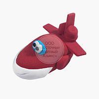Фигурка из мастики  - Самолётик красный, фото 1