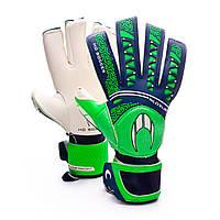 Вратарские перчатки HO Soccer SSG IKARUS ROLL NEGATIVE GREEN