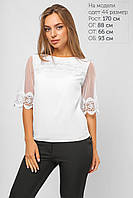 Белая блузка женская, фото 1