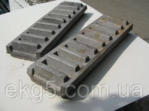 Рейка кремальерная ЭКГ-5 чертеж № 1080.04.114-1