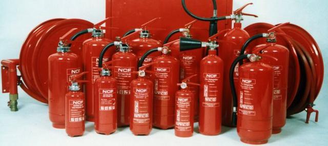 виды огнетушителей фото