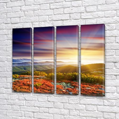 Купить картину дешево в интернет магазине картин, на Холсте син., 65x80 см, (65x18-4)