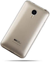 Чехол Ultrathin Silicon case for Meizu M2 note Black