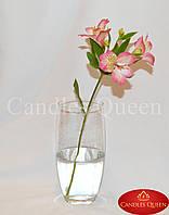 Ваза стеклянная для цветов овальная 270 х135 мм