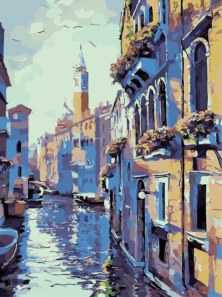 """Картина по номерам """"Венеция"""", 40x50 см., Art Story"""