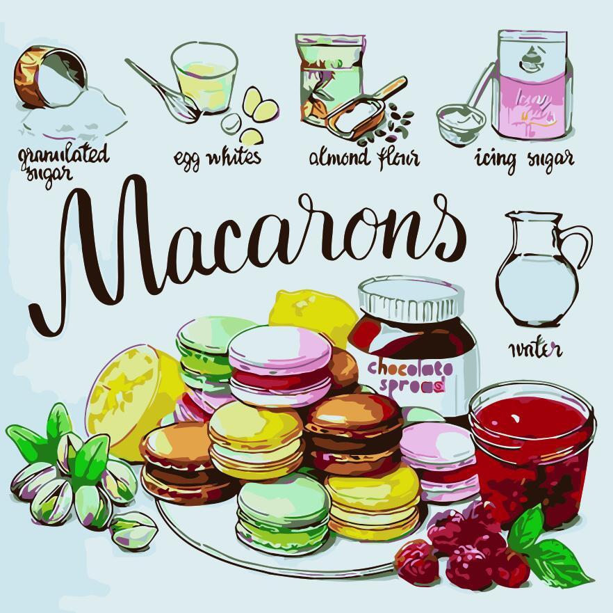 Картина по номерам Любимое печенье, 40x40 см., Art Story