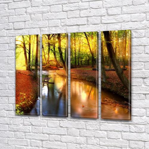 Картины для спальни на холсте фото, на Холсте син., 65x80 см, (65x18-4)