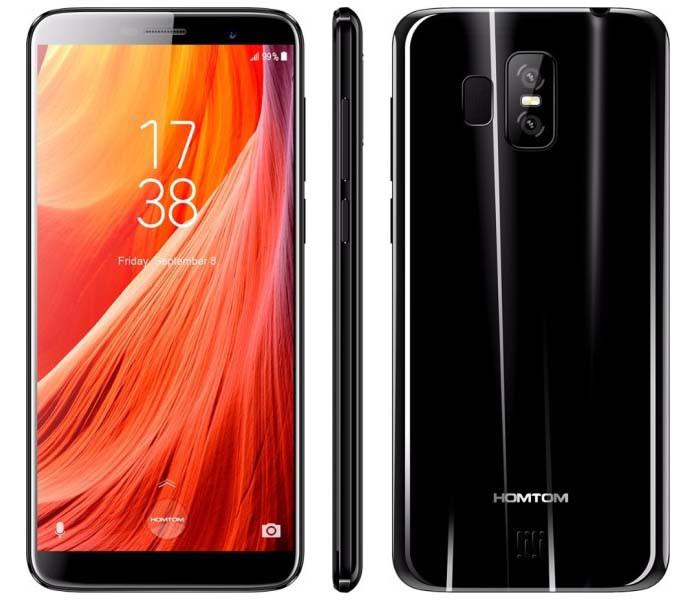 Смартфон HomTom S7 (black) оригинал - гарантия!