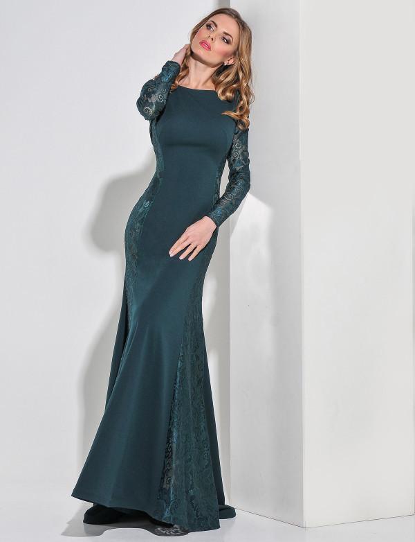 Сукня жіноча зелена вечірня ENIGMA MKENG 2161