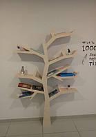 Полка для книг 1700*1200 материал фанера (береза, ольха)