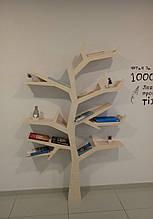 Полка для книг 1700*1200 материал мдф, Береза