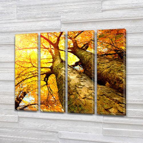 Купить модульную картину на Холсте син., 65x80 см, (65x18-4)