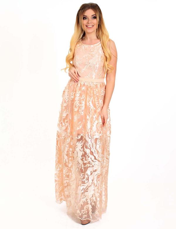 Сукня вечірня Enigma Агостіно рожеве, фото 3