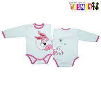 Выбор детского боди с длинным рукавом или человечки для новорожденных