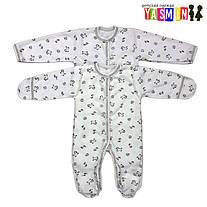 Особенности ясельной одежды для новорожденного из интерлока