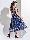 Платье женское тёмно-синее  вечернее  ENIGMA MKENG 2182, фото 2