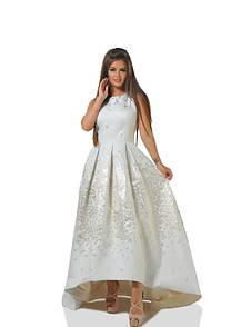 Платье  айвори вечернее