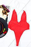 Жіночий купальник відрядний з глибоким вирізом (2 кольори), фото 3