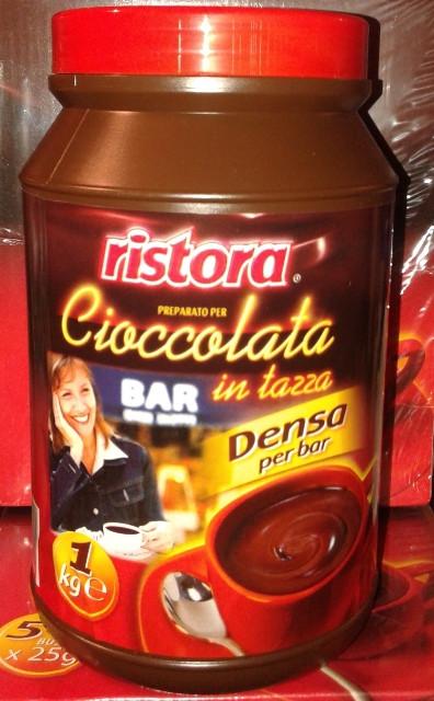Густой горячий шоколад Ristora 1 кг в банке