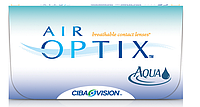 Контактные линзы на месяц  AirOptix Aqua