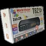 World Vision T62D - Цифровой эфирный Т2 ресивер, фото 4