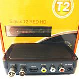 SIMAX RED - Цифровой эфирный Т2 ресивер, фото 2