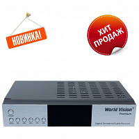 World Vision* Premium DVB-T2/C - Цифровой эфирный Т2 ресивер