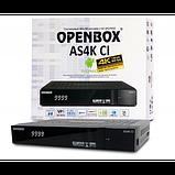 OPENBOX AS4K CI 4К Спутниковый ресивер, фото 2