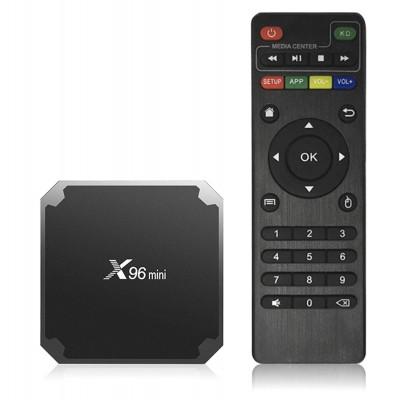 Smart TV Box X96 mini - Смарт ТВ приставка