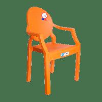 Крісло дитяче Irak Plastik Afacan помаранчеве