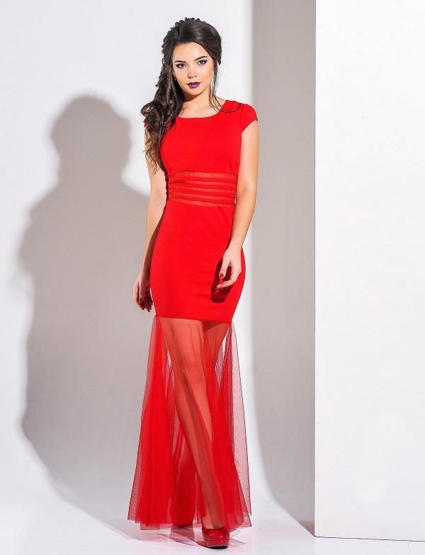 25ea63bed72568 Плаття червоне Modna KAZKA купить в Украине недорого - интернет ...